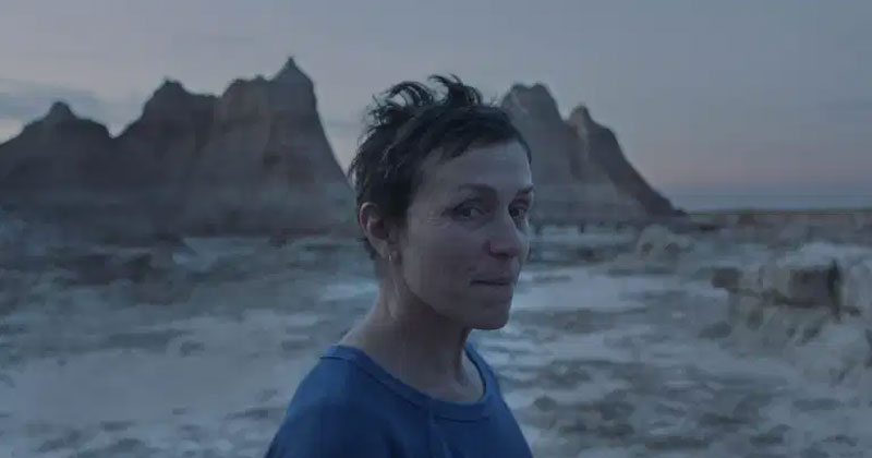 Frances McDormand in Nomadland. Photo Courtesy of Searchlight Pictures. © 2020 20th Century Studios All Rights Reserved