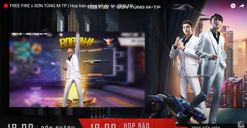 Chính thức công bố kỹ năng nhân vật Skyler - phiên bản kỹ xảo 'cool ngầu' siêu mạnh của Sơn Tùng M-TP 9