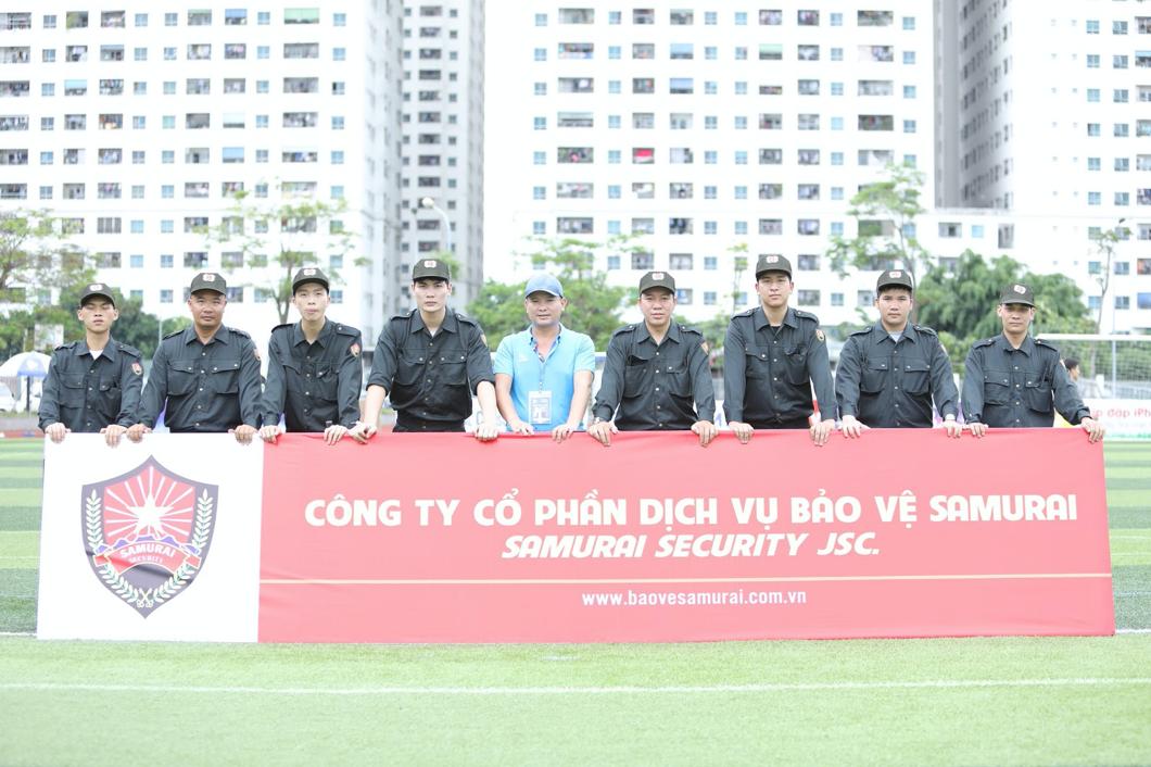 CEO Hà Huy Thành thành lập Công ty CP Dịch vụ Bảo vệ Samurai.