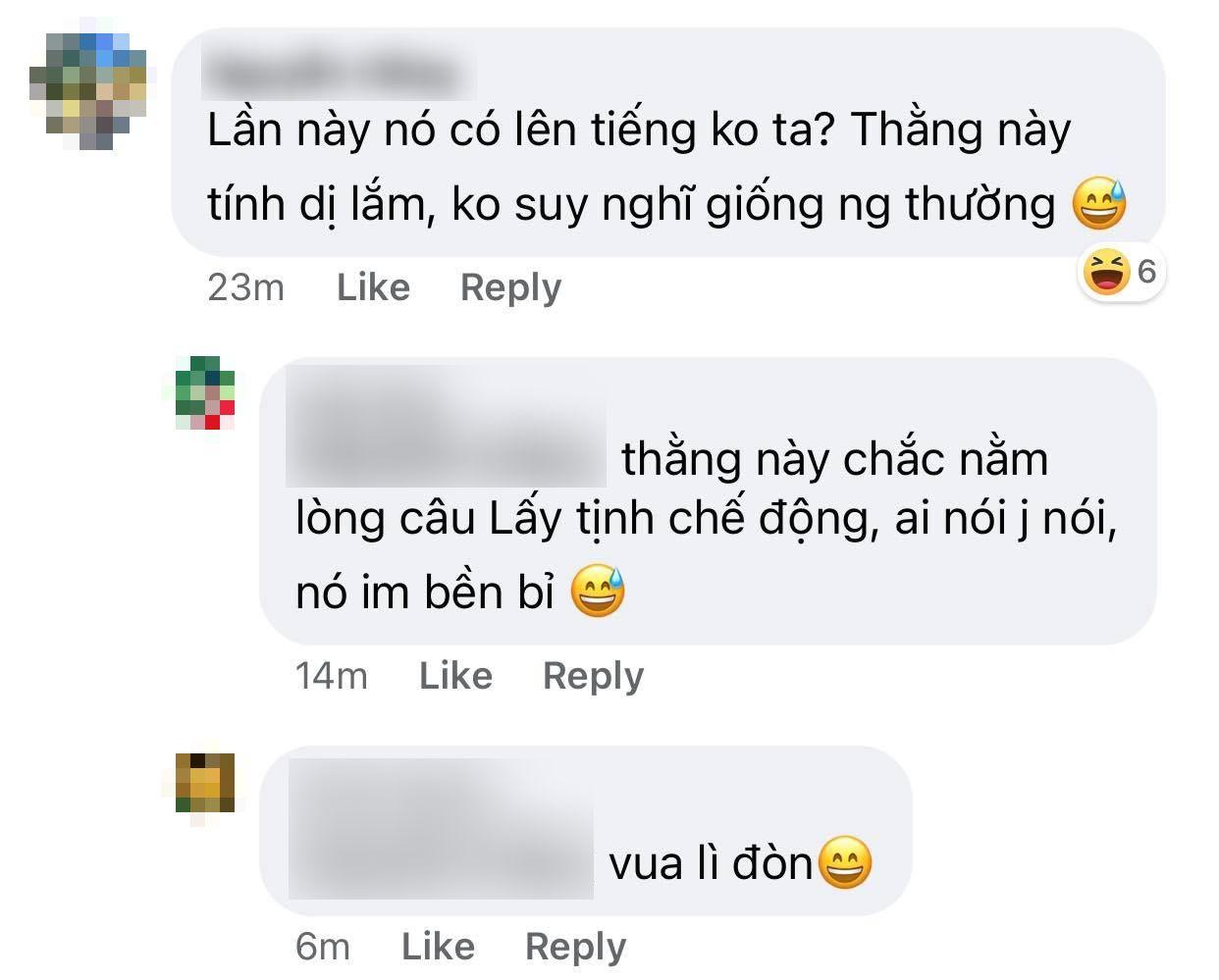 Bình luận của netizen.