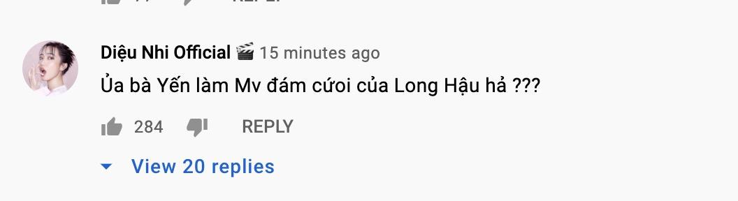 Phản ứng của loạt sao về MV mới của Dương Hoàng Yến.