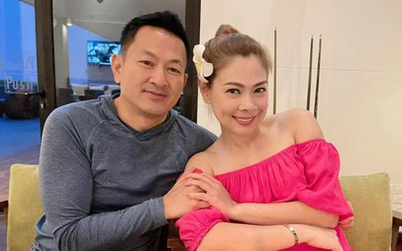 Thanh Thảo hạnh phúc bên ông xã Việt kiều.
