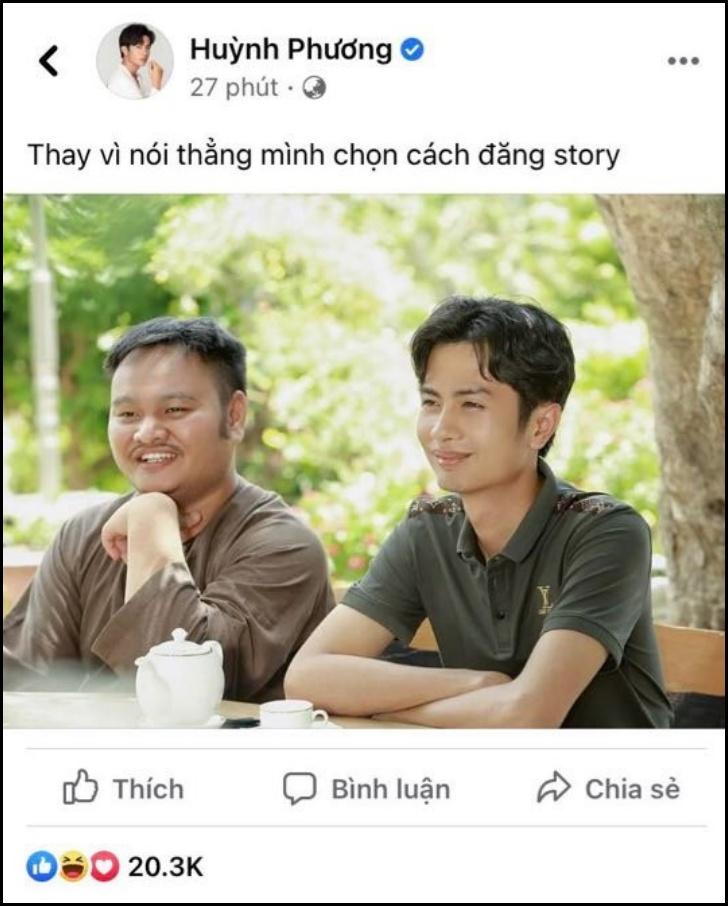 Sau 'liên hoàn story', Vinh Râu tiếp tục 'chặn' Facebook và số điện thoại Lương Minh Trang, Huỳnh Phương giải đáp nghi vấn 'cà khịa' 3
