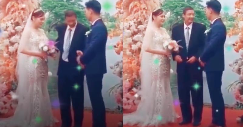 'Hương vị tình thân': Ông Sinh ăn mặc vest bảnh bao, đại diện nhà gái trong lễ cưới của Nam và Long? 0