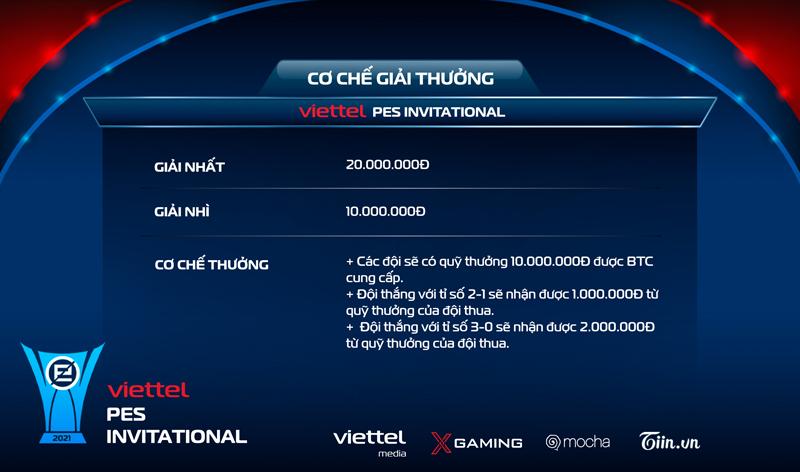 Giải đấudanh giácó tổng giá trị giải thưởng lên tới 100 triệu đồng.