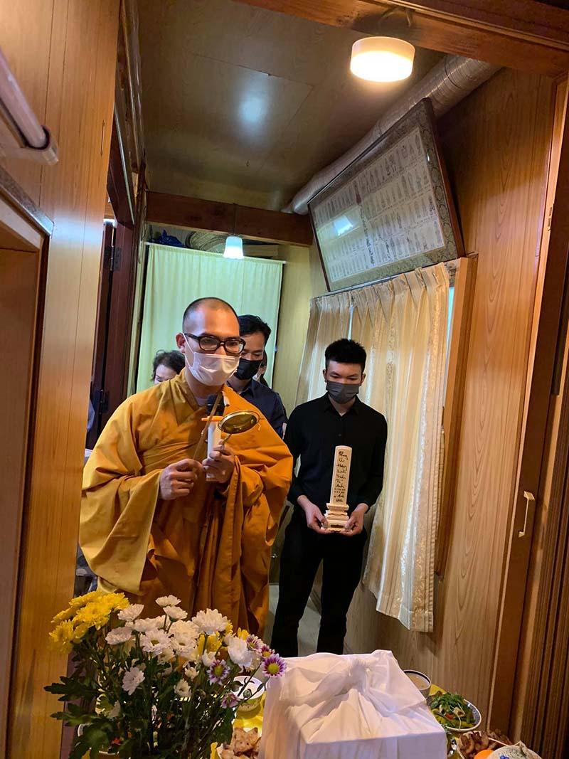 Tro cốt của em T.T.A sẽ lên đường về Việt Nam ngày 15/8 tới đây.