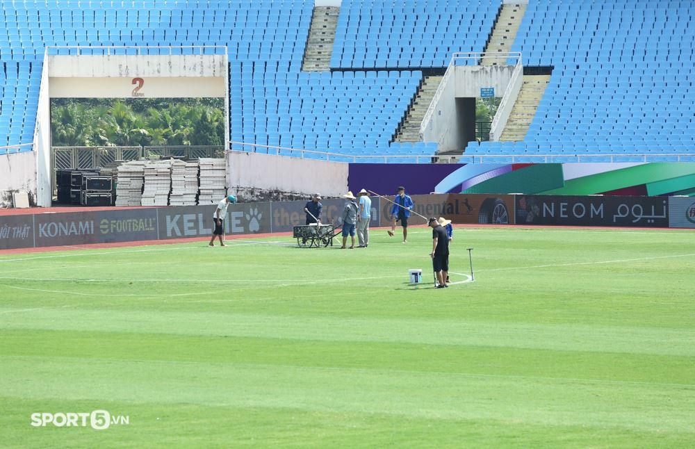 Cận cảnh sân vận động Mỹ Đình trước thềm trận đấu Việt Nam - Australia 0