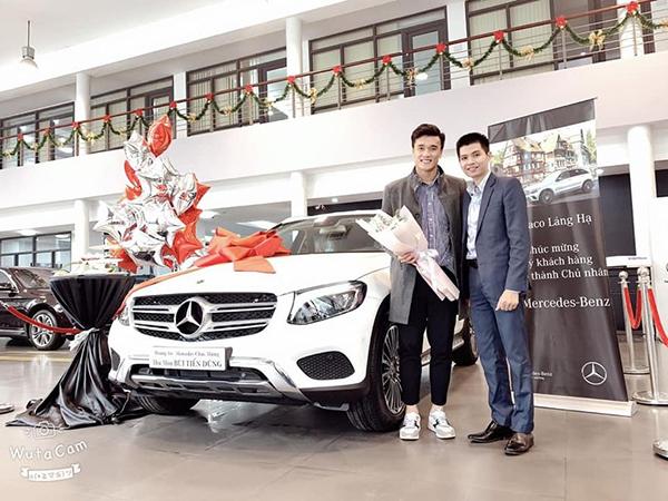 Bùi Tiến Dũng sắm Mercedes-Benz GLC 250 có giá niêm yết khoảng 2 tỉ đồng.