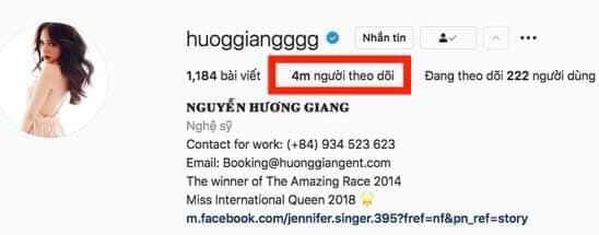 Chọn ở ẩn khỏi showbiz, Hương Giang chịu tổn thất khá nặng nề trên mạng xã hội 1