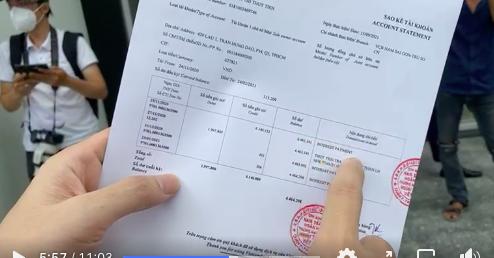 Theo công bố, số dư trong tài khoản của Thủy Tiên sau 3 tháng kết thúc từ thiện là hơn 4 triệu đồng
