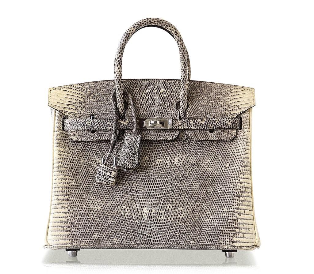 Túi Hermes Birkin Lizard Ombre có giá khoảng 2 tỷ đồng.