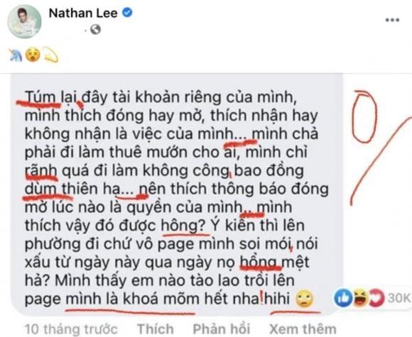 Nathan Lee bóc lỗi chính tả của Thủy Tiên.