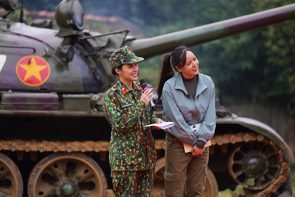 Kỳ tài Quân đội tập 3: Lan Phương ngồi hát trên xe tăng, Diễm Hương nhận thử thách khó nhằn 8