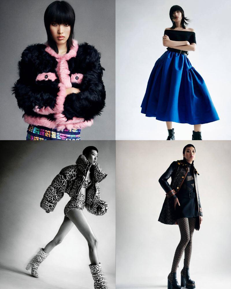 Một số hình ảnh ấn tượng của Phương Oanh trong bộ ảnh thời trang số tháng 9 của Vogue Thái Lan