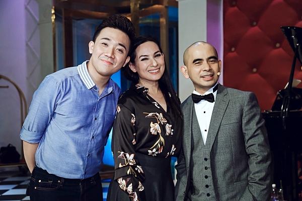 Phi Nhung và Trấn Thành là những người đồng nghiệp rất thân thiết.