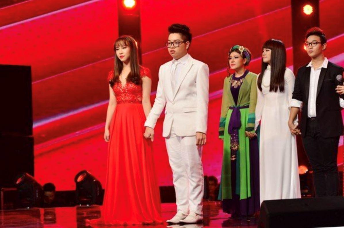 Nguyễn Cao Bảo Uyên trong chương trình The Voice