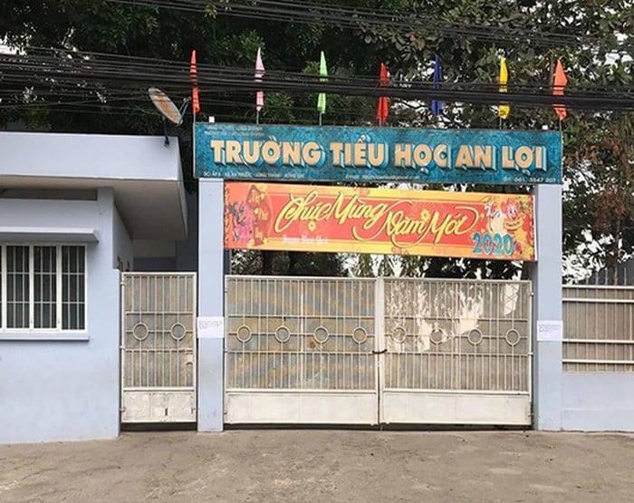 Trường Tiểu học An Lợi (xã An Phước, huyện Long Thành, tỉnh Đồng Nai).