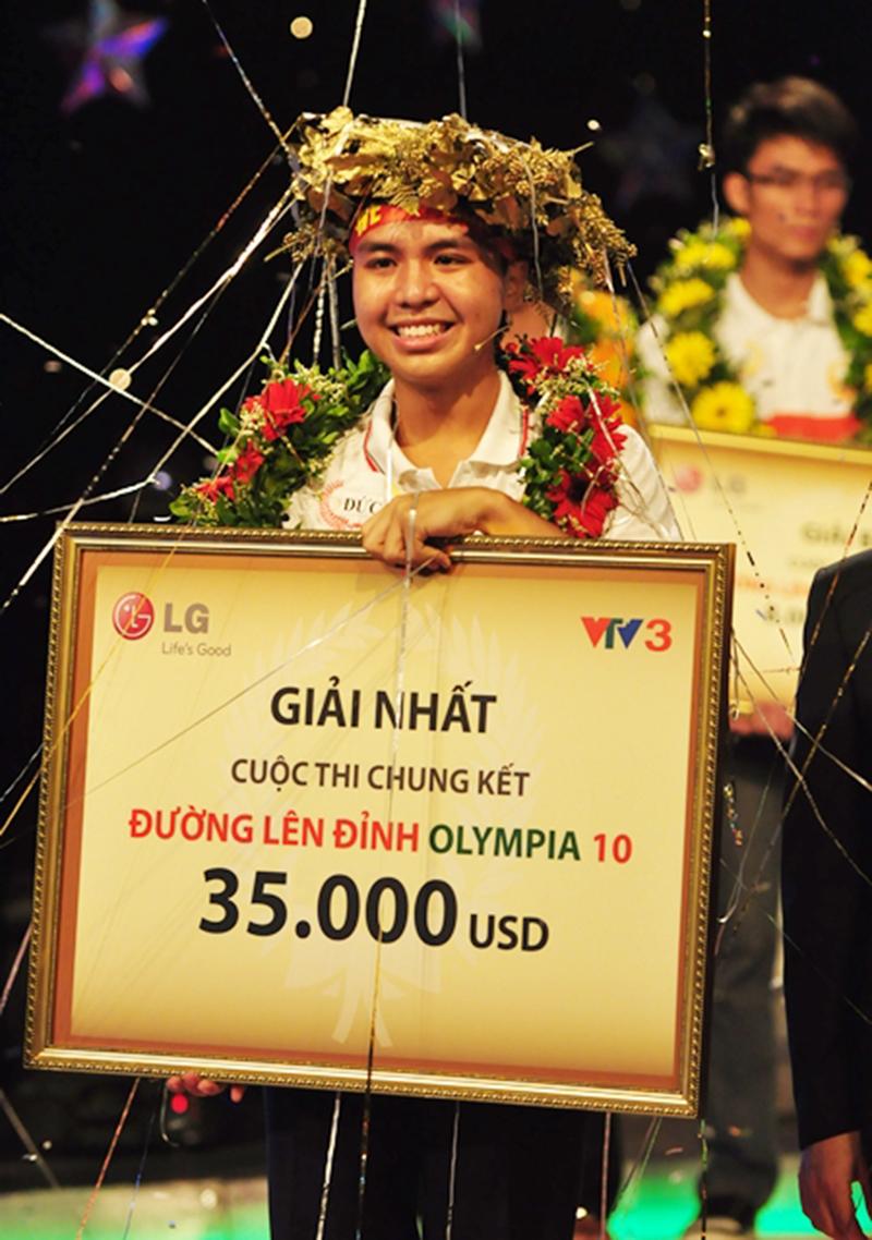 Phan Minh Đức là nhà vô địch đầu tiên đến từ Hà Nội.