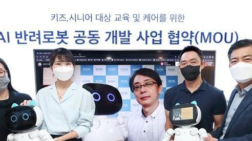 Công ty Hàn Quốc phát triển robot dành cho trẻ em và người già