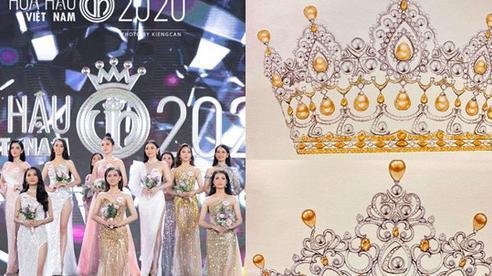 Hé lộ 2 bản vẽ vương miện của Hoa hậu Việt Nam 2020 trước thềm chung kết
