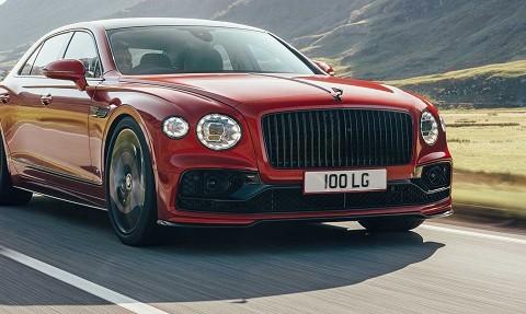Siêu xe 'cho giới thượng lưu' Bentley Flying Spur V8 ra mắt, nhẹ hơn 100kg so với bản W12