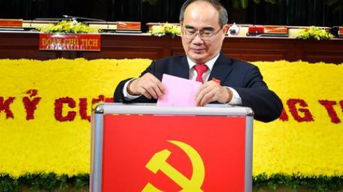 Ông Nguyễn Thiện Nhân tiếp tục theo dõi chỉ đạo Đảng bộ TP Hồ Chí Minh cho đến khi kết thúc Đại hội đại biểu toàn quốc lần thứ XIII của Đảng
