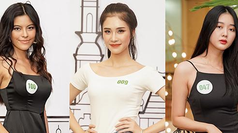 Dàn thí sinh sơ khảo Hoa khôi Du lịch Việt Nam 2020