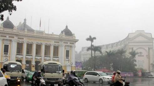 Dự báo thời tiết ngày 19/10: Hà Nội tiếp tục mưa lạnh