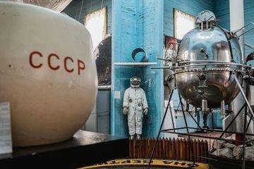 Bảo tàng thám hiểm không gian bên trong nhà thờ cổ