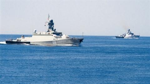 Tàu chiến Nga triển khai gần lãnh hải Azerbaijan
