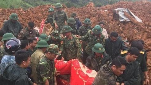 Danh sách 22 cán bộ, chiến sĩ trong vụ sạt lở ở Quảng Trị