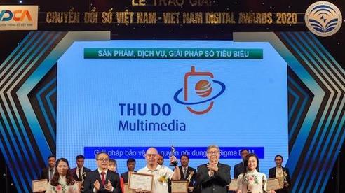 Thudo Multimedia giành hai Giải thưởng Chuyển đổi số Việt Nam 2020