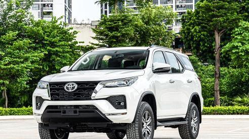 Giá xe ôtô hôm nay 19/10: Toyota Fortunerdao động từ 995 - 1.388 triệu đồng