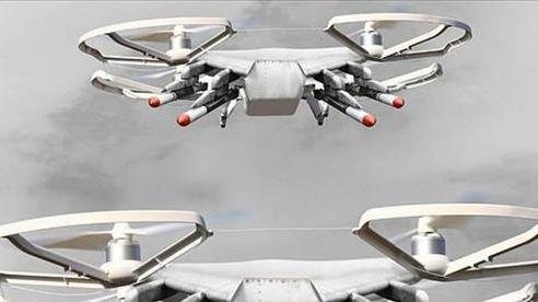 Anh phát triển máy bay không người lái 'Street-Fighter' trang bị AI và súng ngắn