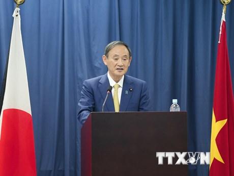 Thủ tướng Suga Yoshihide gặp gỡ sinh viên Trường Đại học Việt-Nhật
