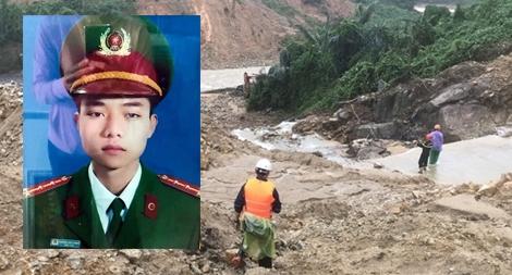 Đưa được thi thể Đại úy Trương Văn Thắng hy sinh trong lúc chống lũ về BV tỉnh Quảng Trị
