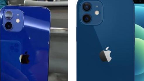 Màu xanh trên iPhone 12 gây bức xúc vì không giống quảng cáo