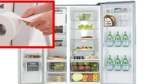 Quên cuộn giấy vệ sinh trong tủ lạnh, ai ngờ xảy ra điều kỳ diệu khiến chị em làm theo ngay