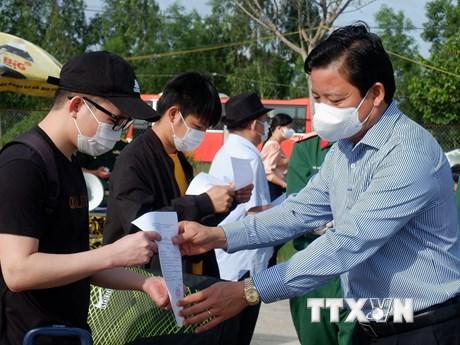 Dịch COVID-19: 235 công dân hoàn thành thời gian cách ly tại Long An