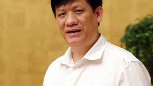 Sáng nay, quyền Bộ trưởng Bộ Y tế Nguyễn Thanh Long lần đầu tiên đăng đàn Quốc hội