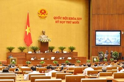 Thông cáo báo chí số 04 Kỳ họp thứ 10, Quốc hội khóa XIV