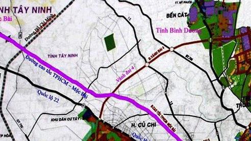 Hướng đi của tuyến cao tốc hơn 13.600 tỷ đồng từ Tp.HCM đến Mộc Bài