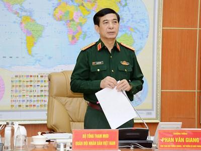 Chỉ đạo toàn quân hoàn thành toàn diện các nhiệm vụ theo kế hoạch
