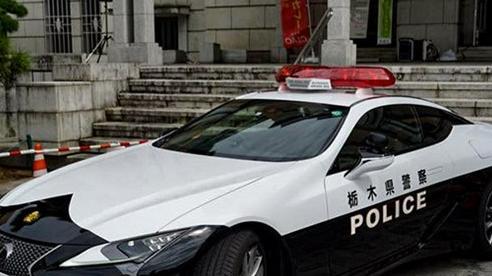 Xe Lexus LC 500 dành riêng cho cảnh sát Nhật Bản trông như thế nào?