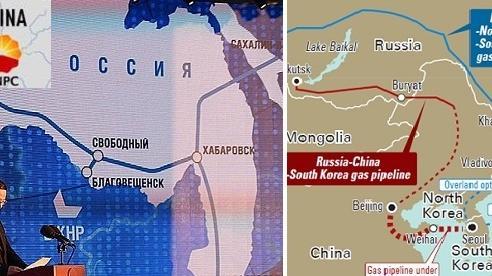 Trung Quốc đẩy mạnh tự cung, khí đốt Nga lâm thế kẹt