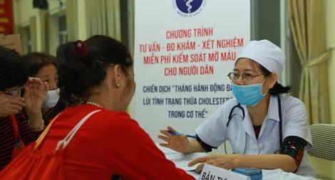 Bộ Y tế quyết tâm khống chế gia tăng và giảm tỷ lệ người thừa cholesterol