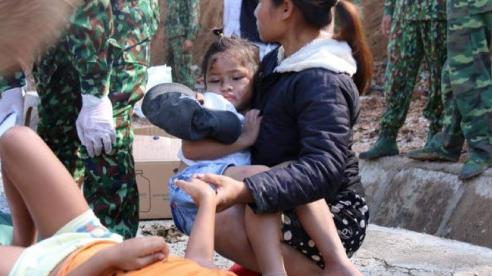Vụ sạt lở núi ở xã Trà Leng: Cứu sống được 33 người, 13 người hiện đang còn mất tích