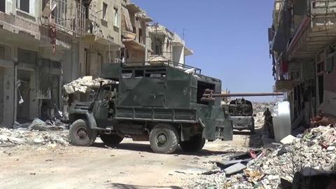Pháo tự hành bánh lốp thành 'ác mộng' tại chiến trường Syria