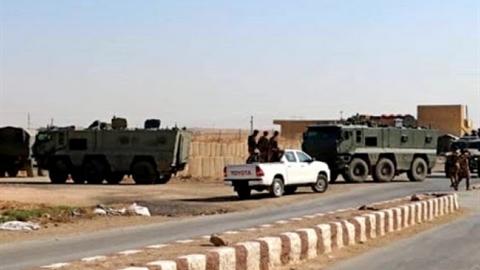 Quân cảnh Nga vây bắt đoàn xe thiết bị quân sự Mỹ?