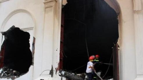 Vụ cháy quán bar, 3 người chết ở Vĩnh Phúc: Nạn nhân ẩn nấp trong nhà vệ sinh